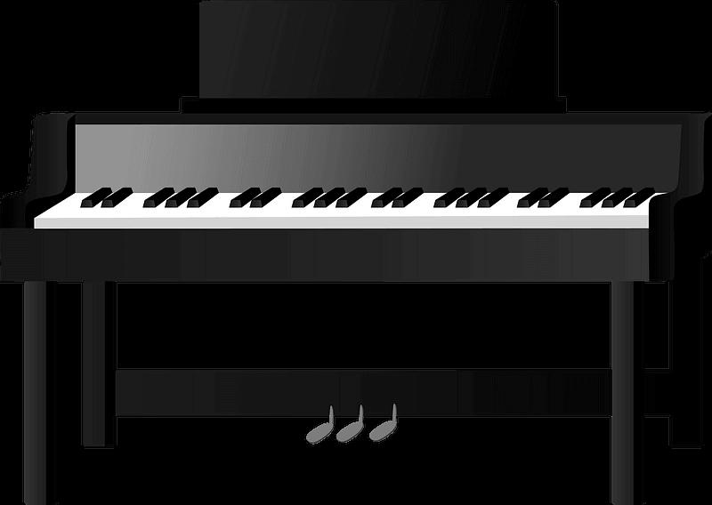 Piano clipart transparent 2