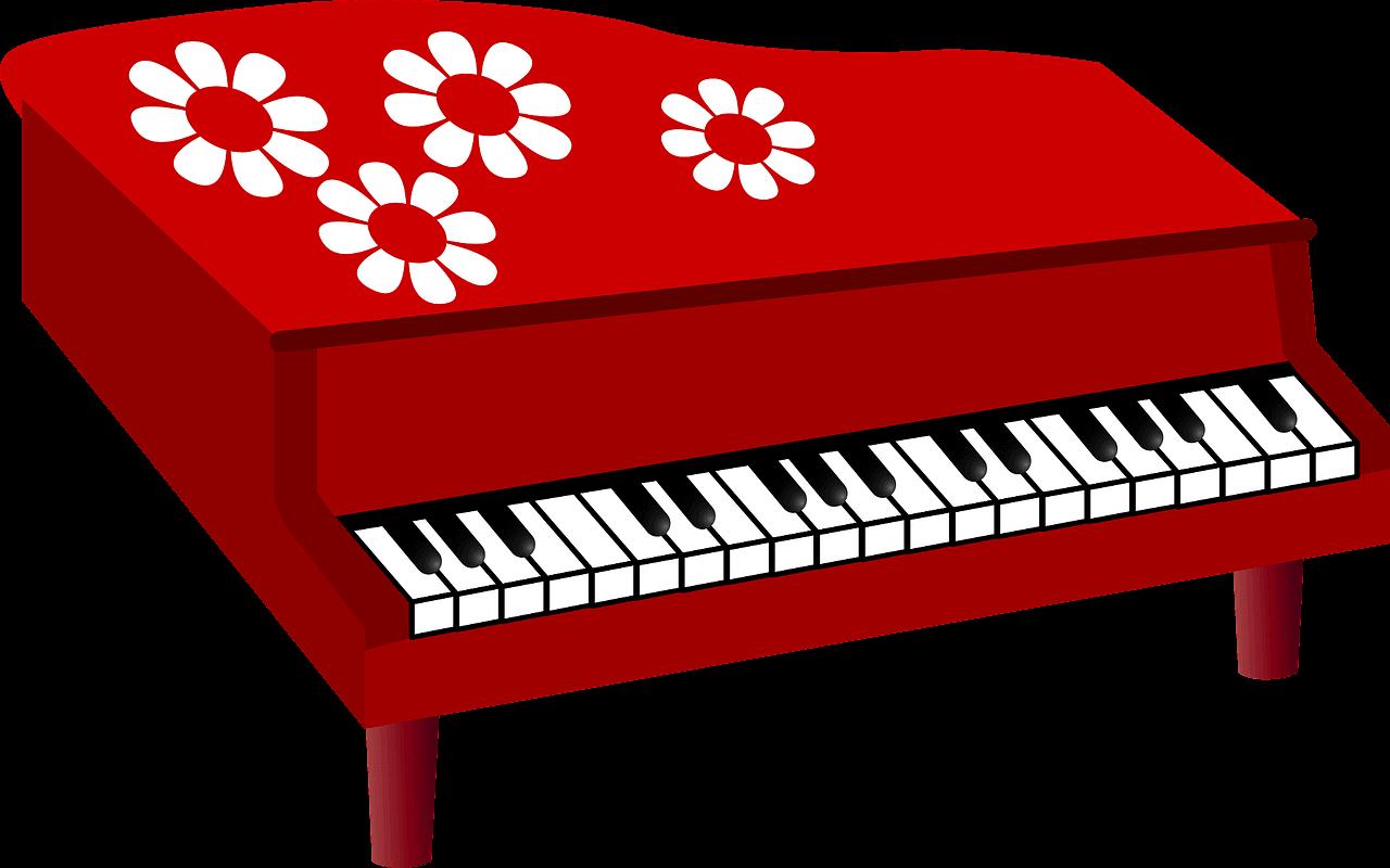Piano clipart transparent 5