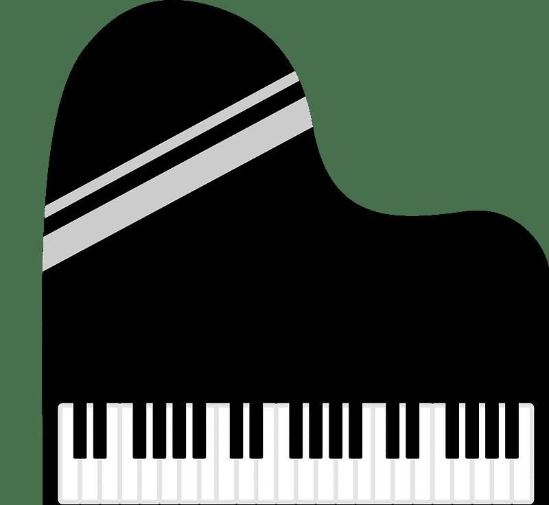 Piano clipart transparent 9