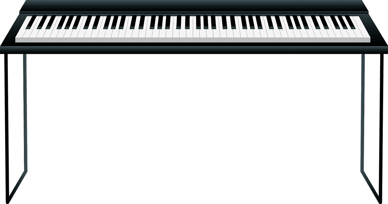 Piano clipart transparent background