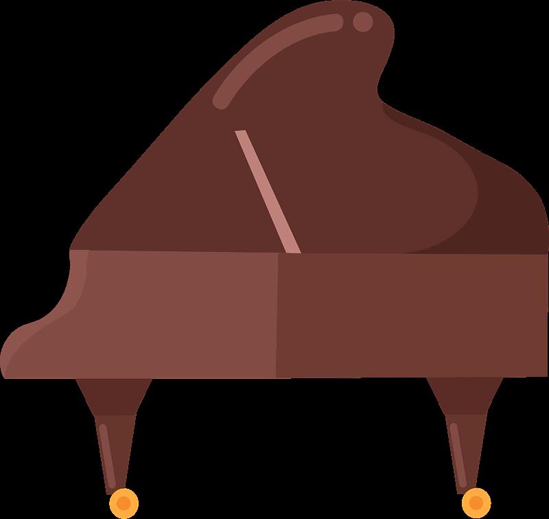 Piano clipart transparent image