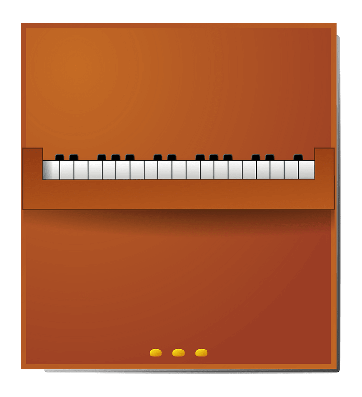 Piano clipart transparent png image