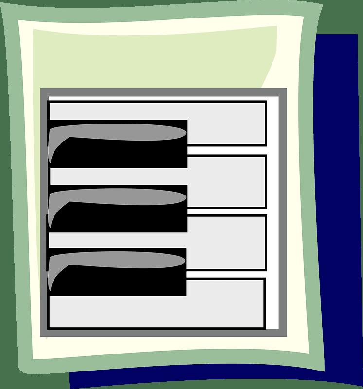 Piano clipart transparent png images