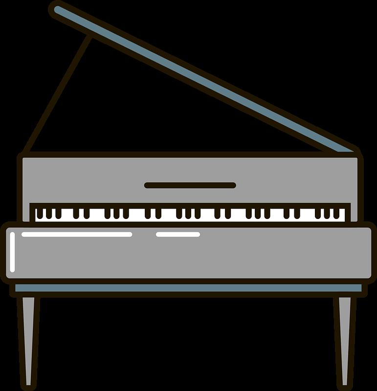 Piano clipart transparent png