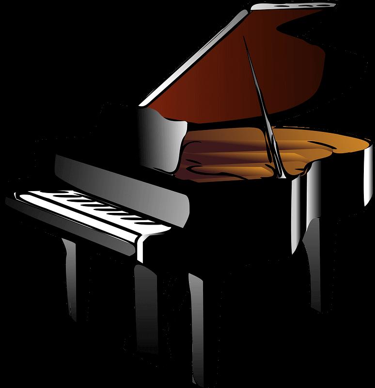 Piano clipart transparent
