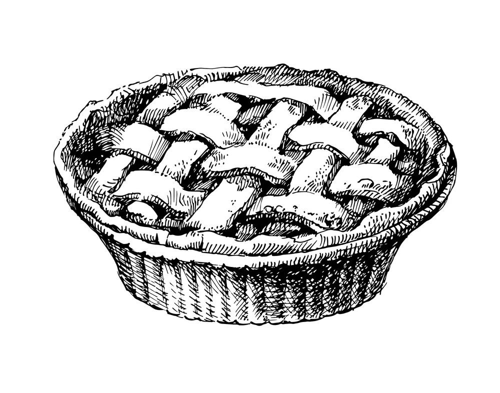 Pie clipart 10
