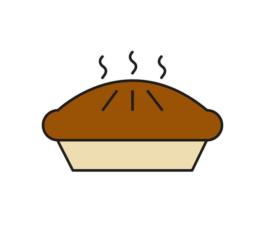 Pie clipart 11