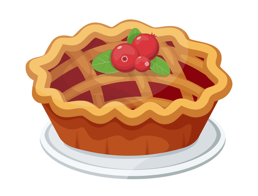 Pie clipart 12