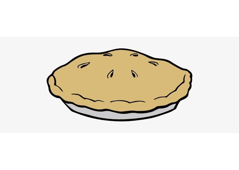 Pie clipart 14