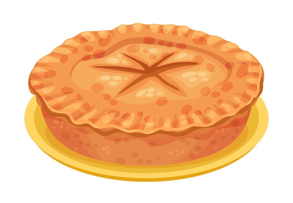 Pie clipart 7