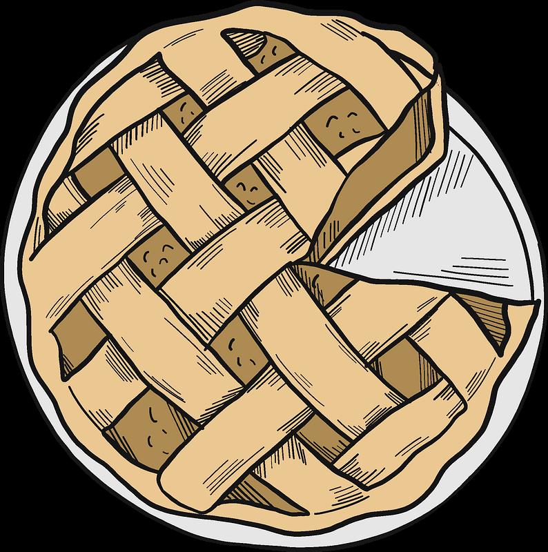 Pie clipart transparent background 1