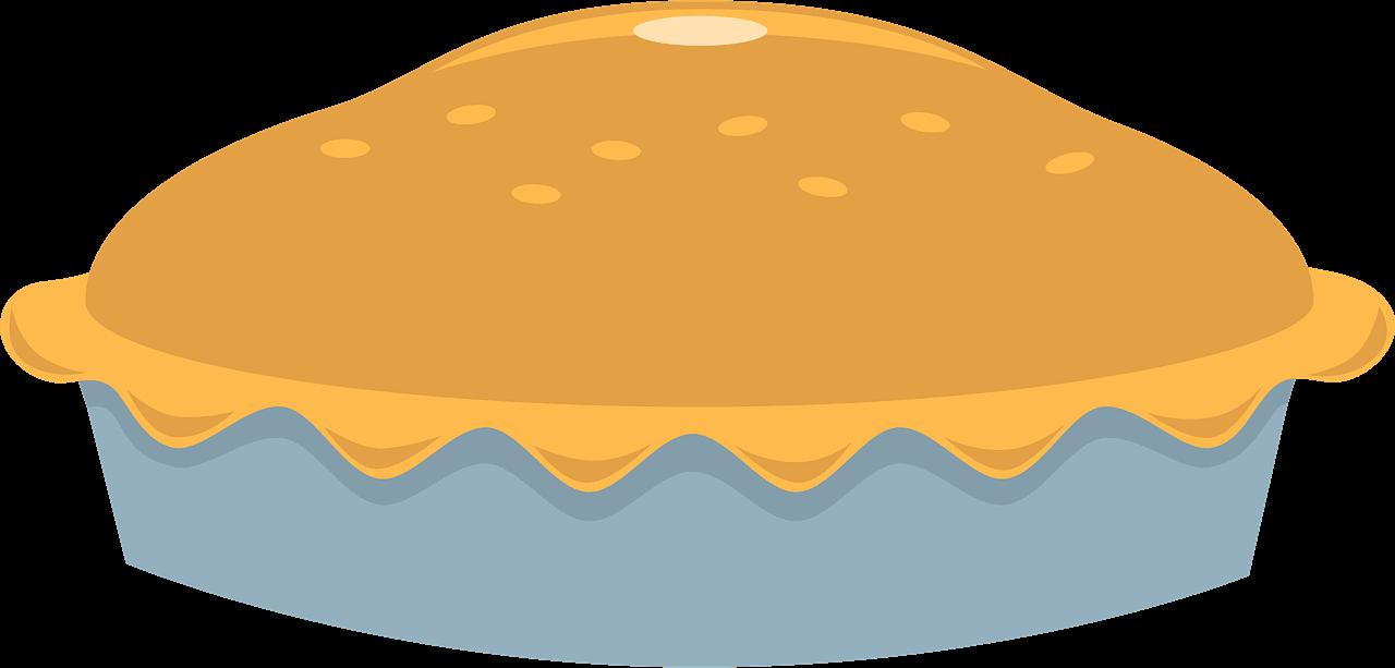 Pie clipart transparent background 4