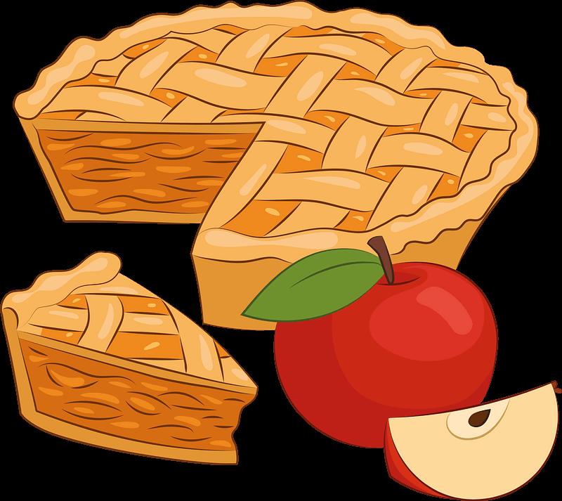 Pie clipart transparent background 7