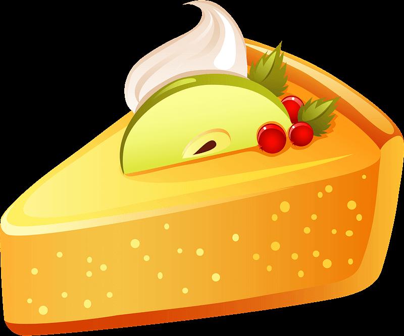 Pie clipart transparent background 8
