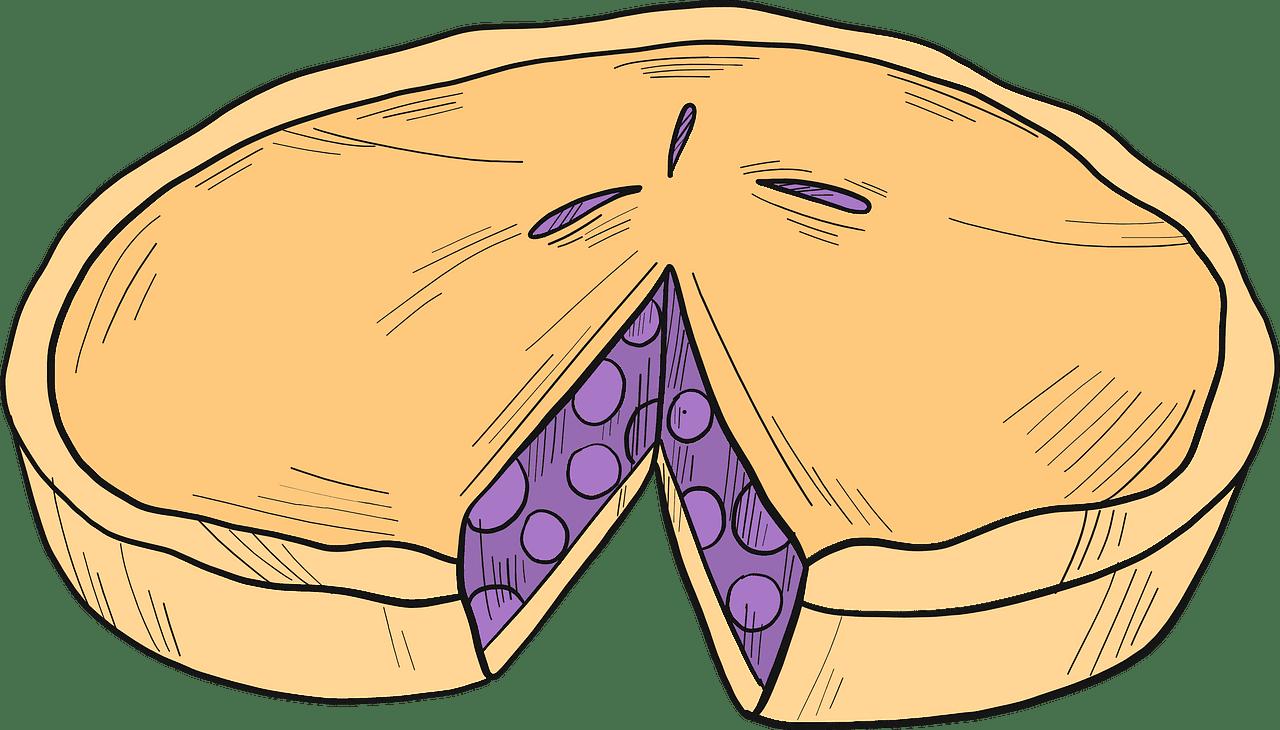 Pie clipart transparent for free