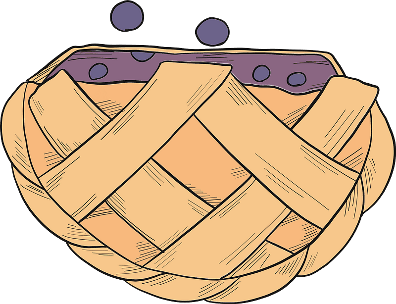 Pie clipart transparent free