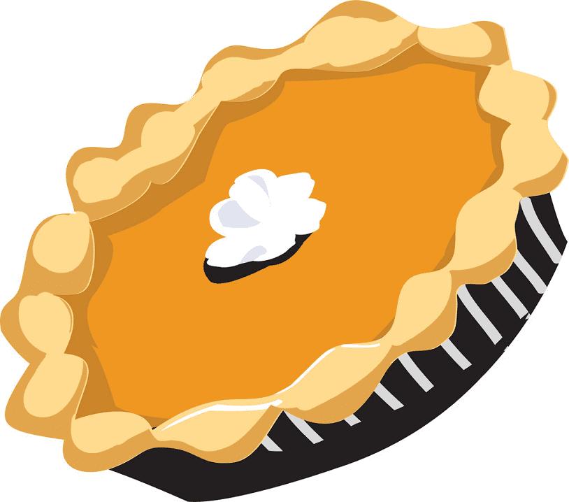 Pumpkin Pie clipart for free