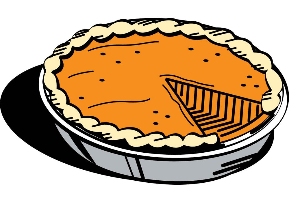 Pumpkin Pie clipart free image