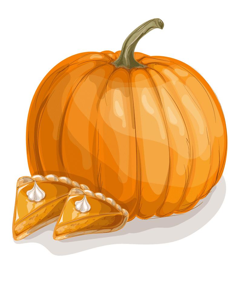 Pumpkin Pie clipart png images
