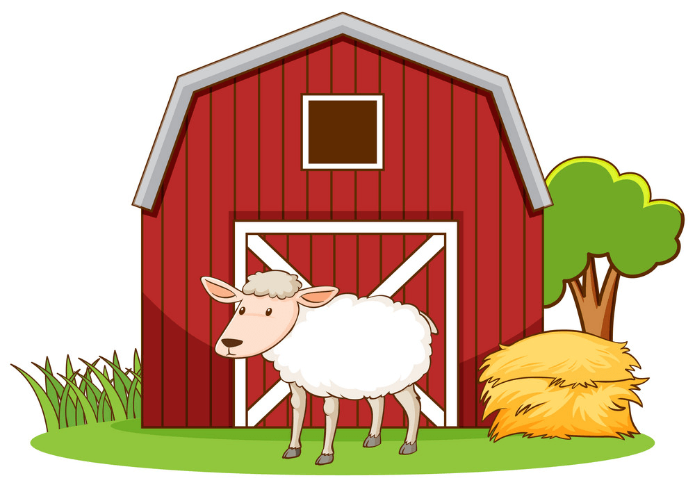 Red Barn clipart images