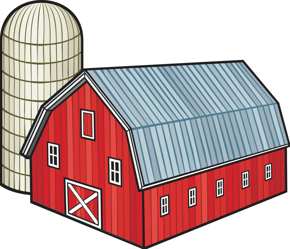 Red Barn clipart png images