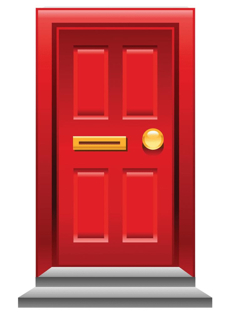 Red Door clipart