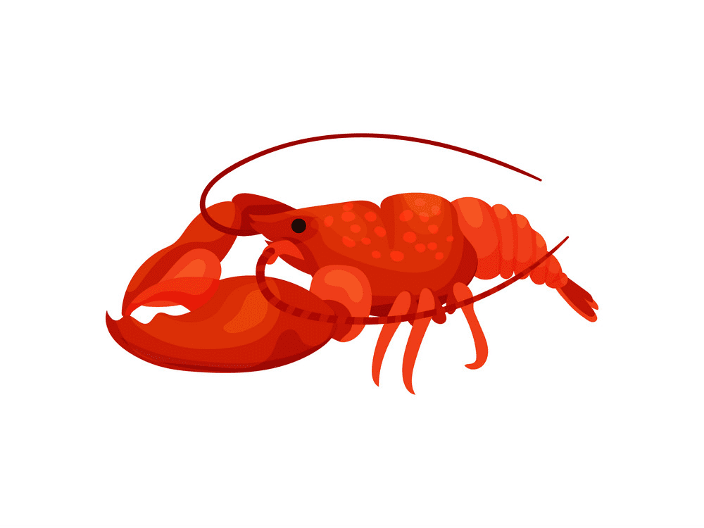 Red Lobster clipart free