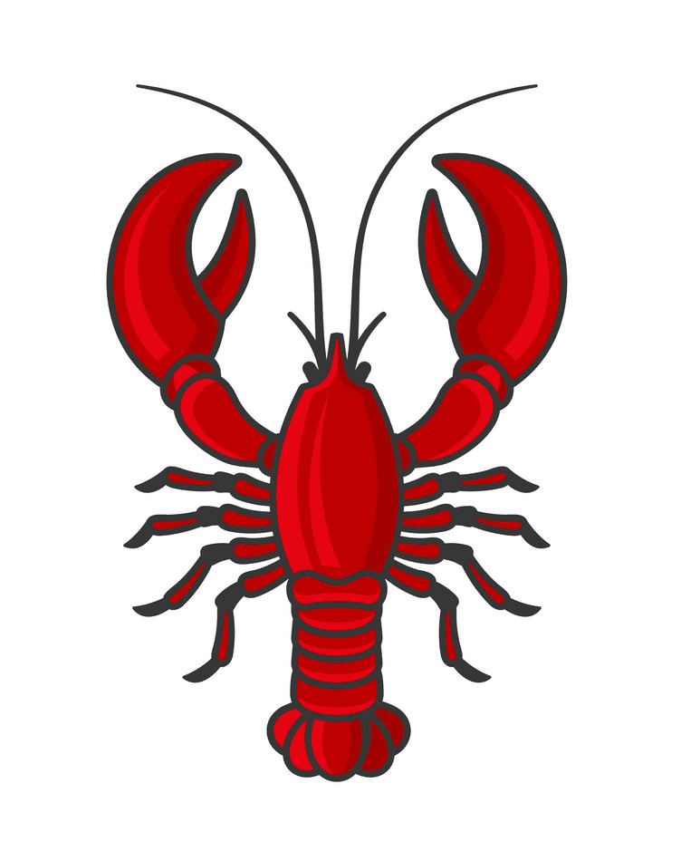 Red Lobster clipart png