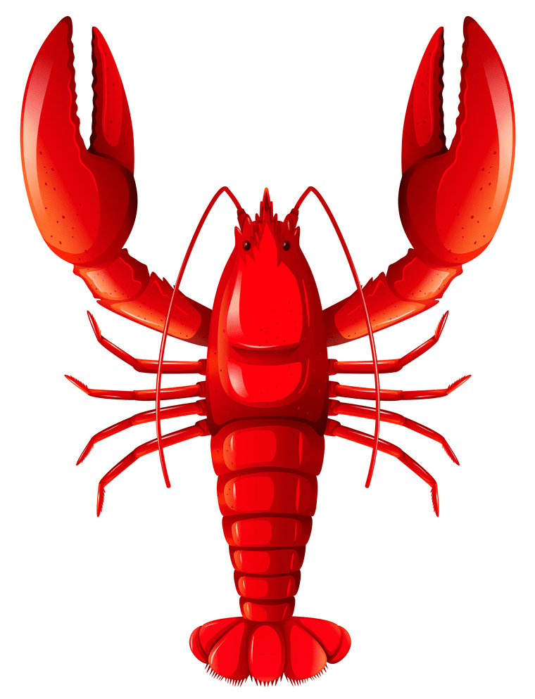 Red Lobster clipart