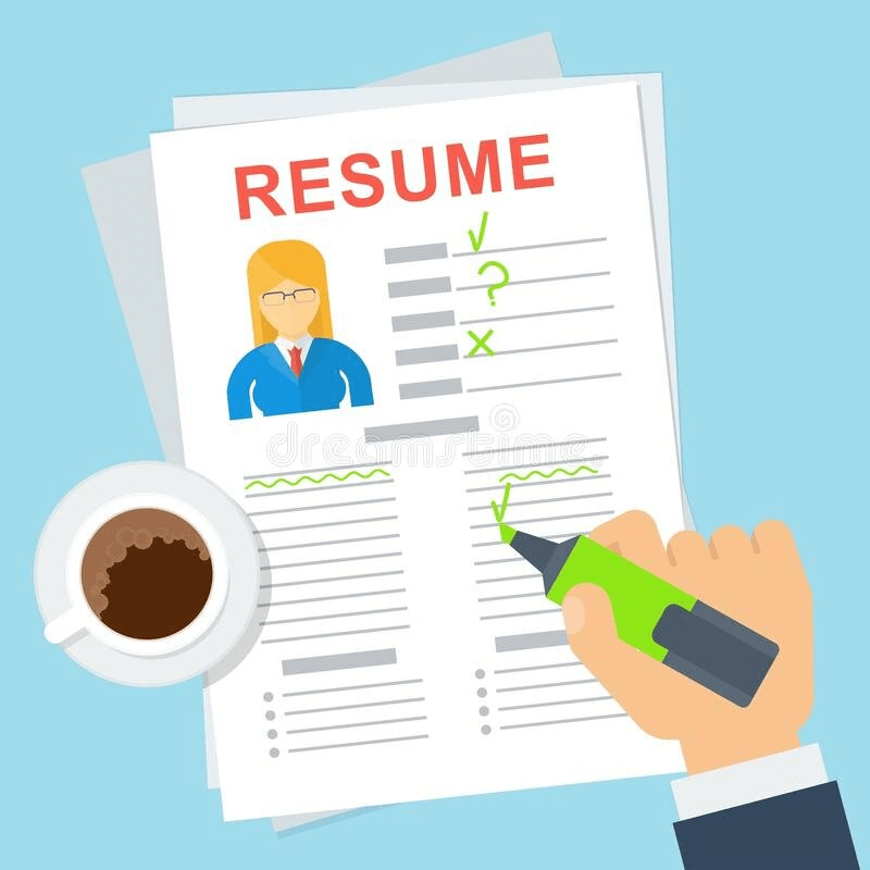 Resume clipart 3