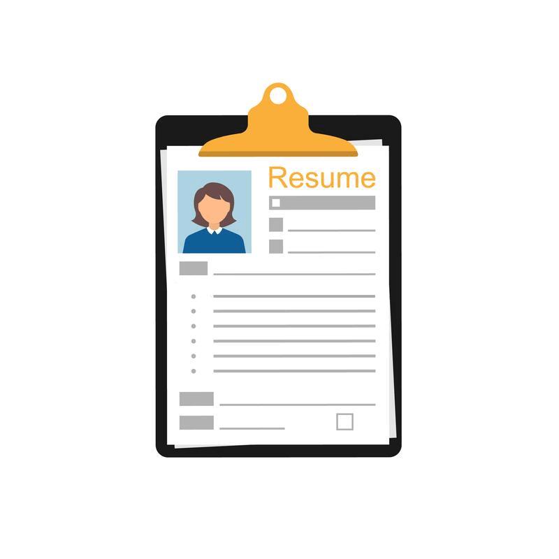 Resume clipart 4