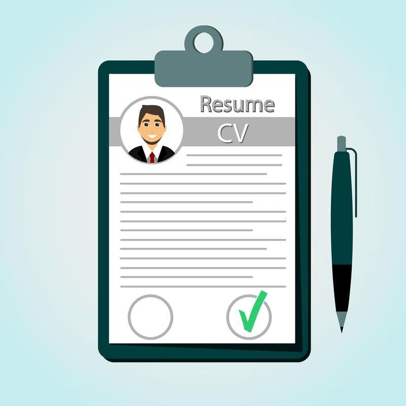 Resume clipart 5