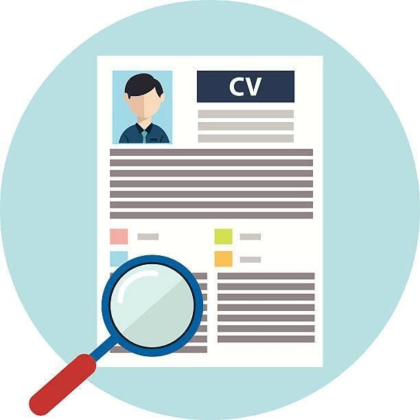 Resume clipart 6