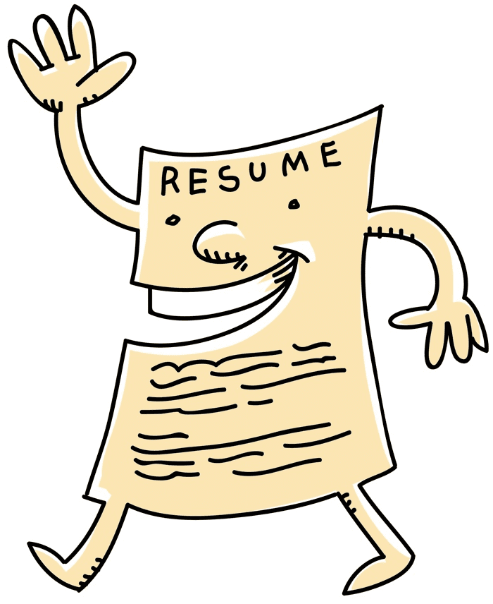 Resume clipart free 2