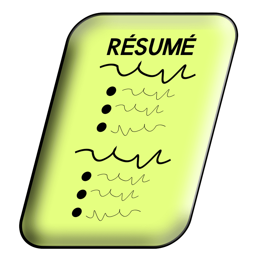 Resume clipart free 3