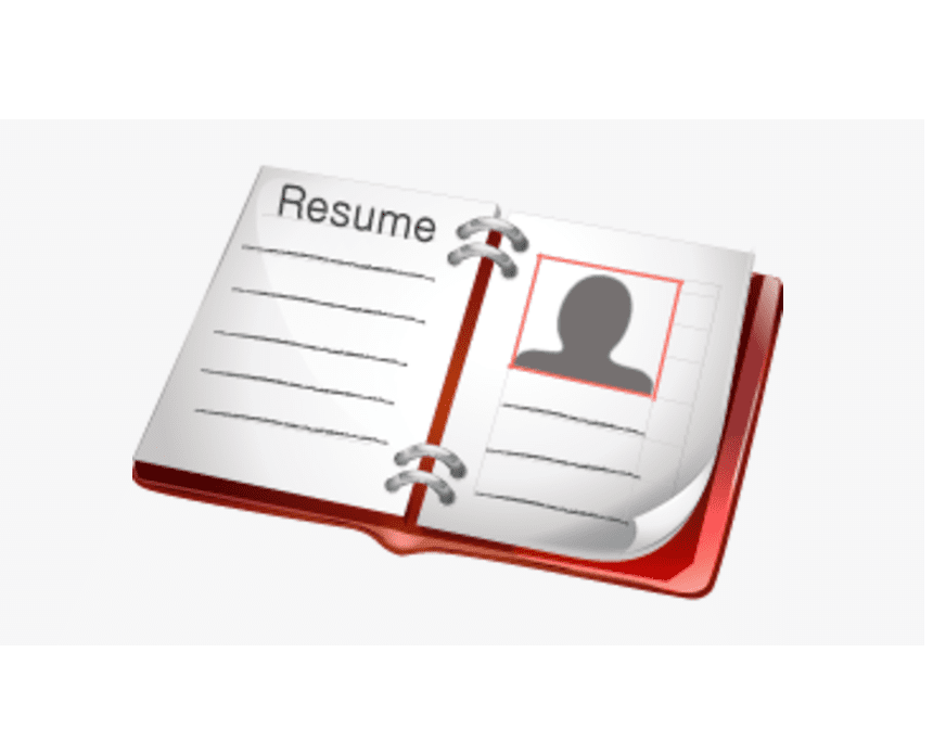 Resume clipart free 5