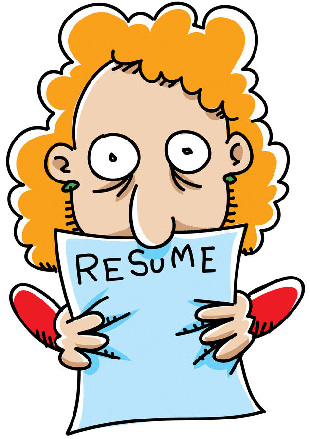 Resume clipart free 6