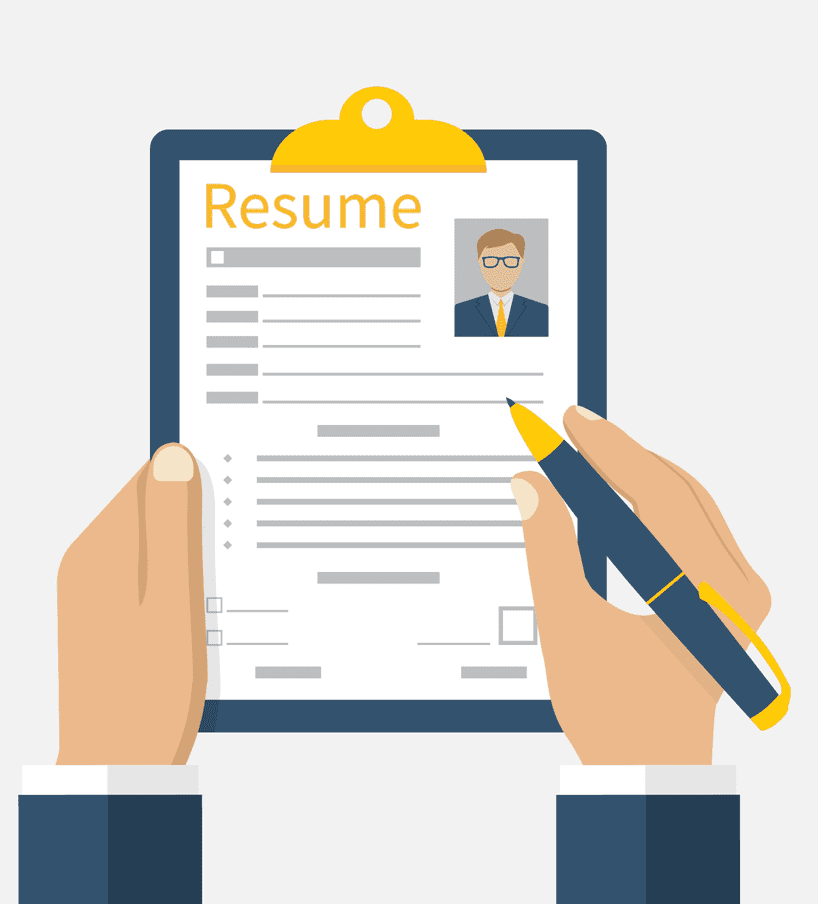 Resume clipart free 8