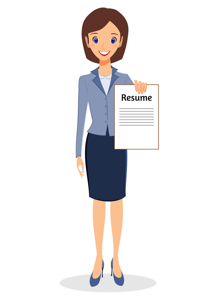 Resume clipart images