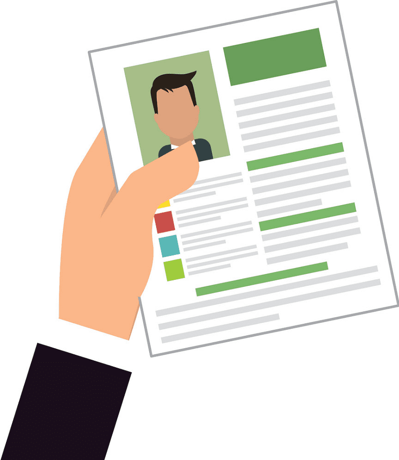 Resume clipart png 1
