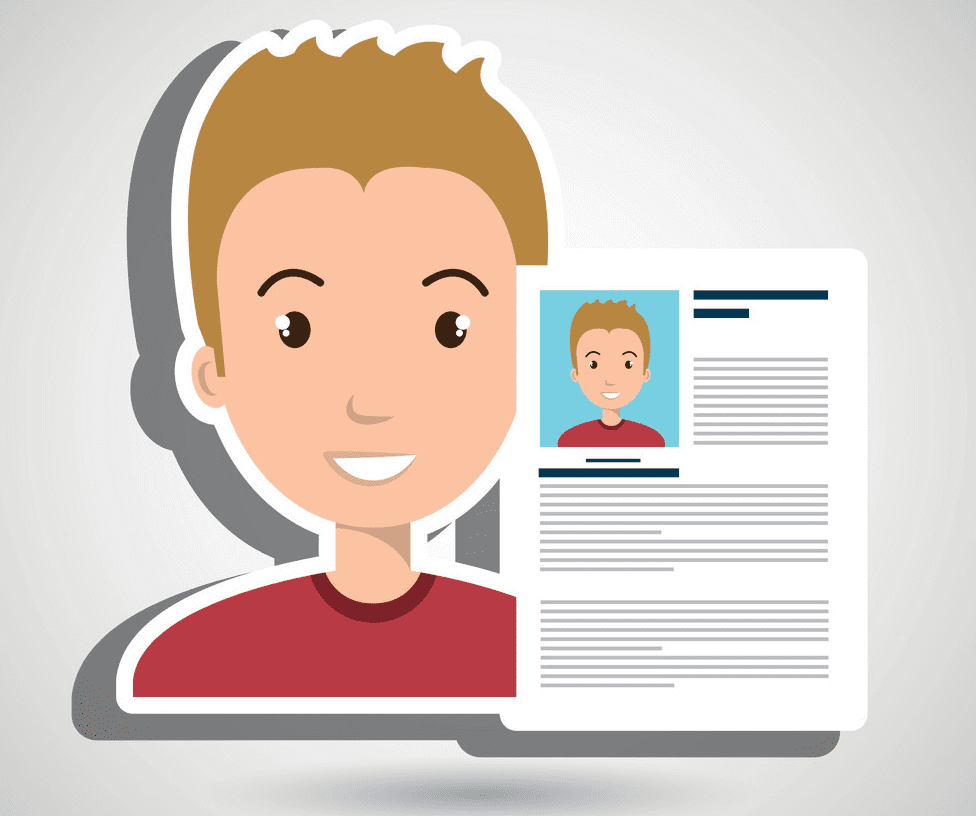 Resume clipart png image