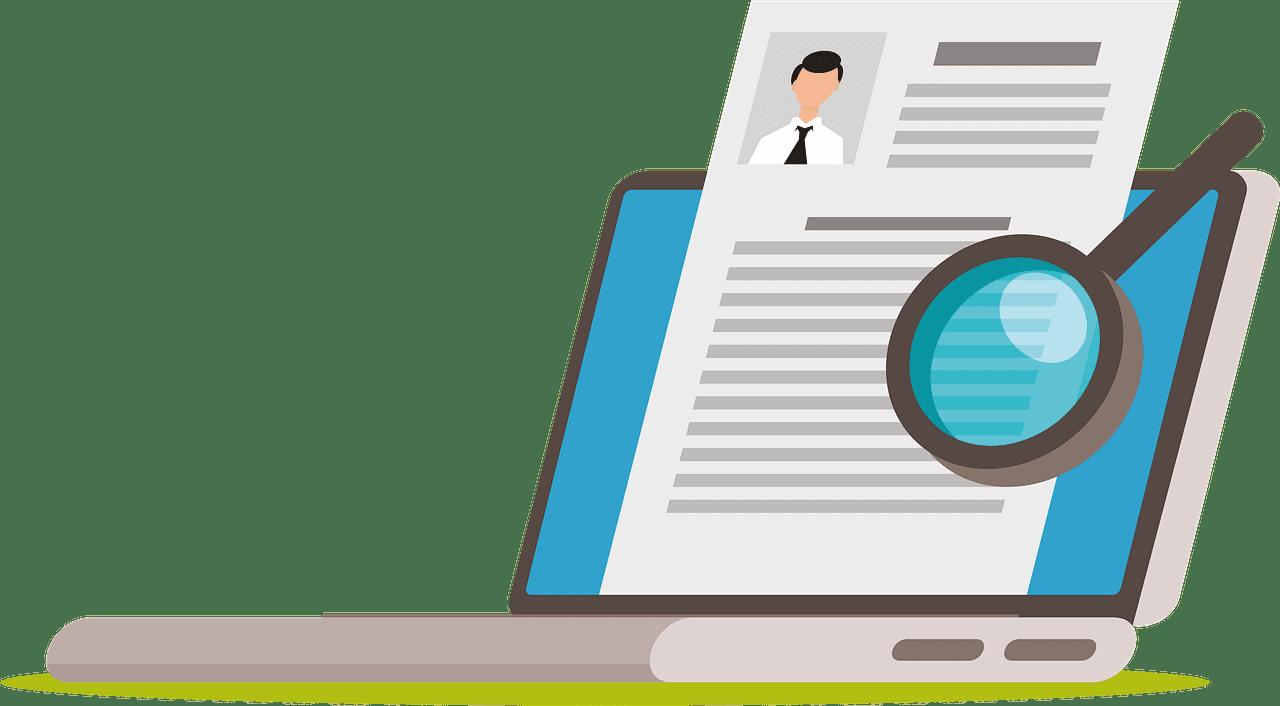 Resume clipart transparent 4