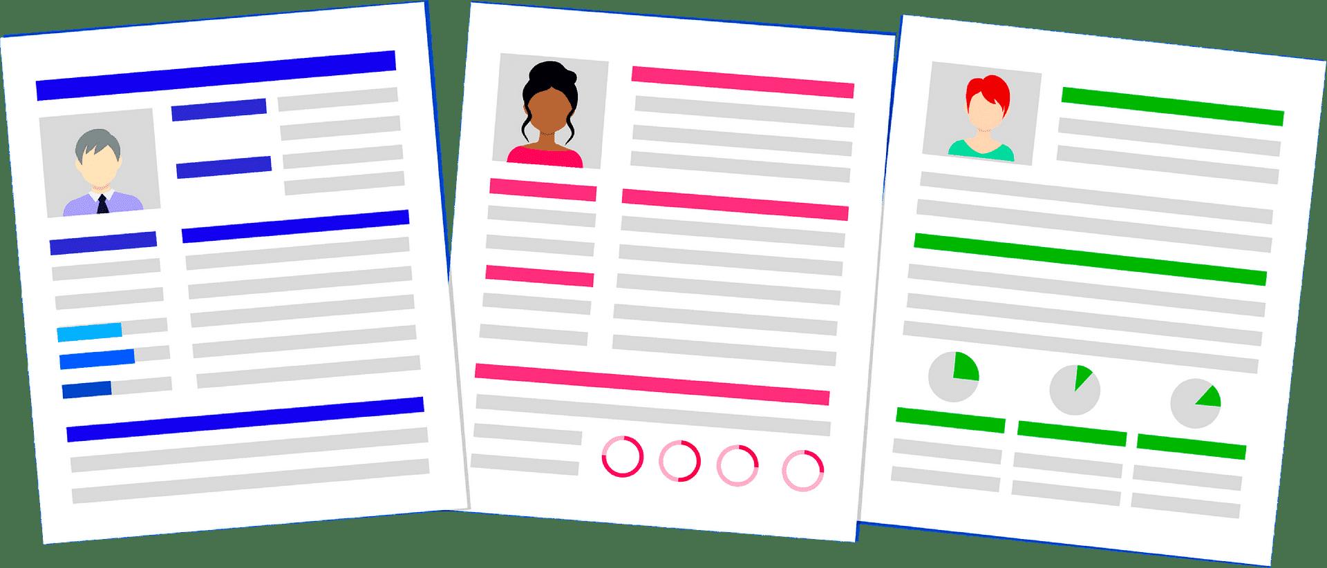 Resume clipart transparent