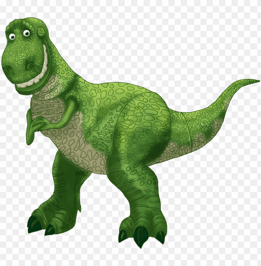 Rex Toy Story clipart image