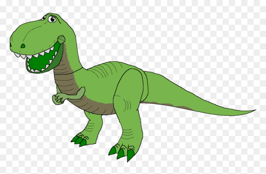 Rex Toy Story clipart images