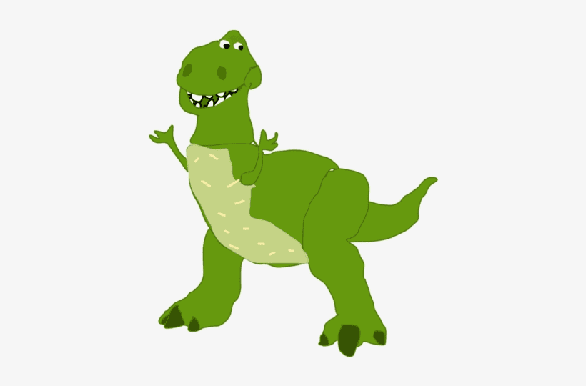 Rex Toy Story clipart png free