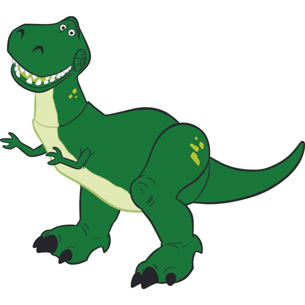 Rex Toy Story clipart png image