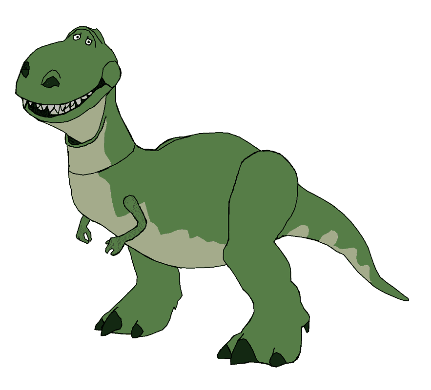 Rex Toy Story clipart png images