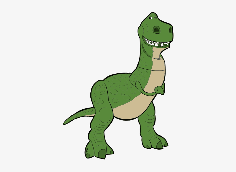 Rex Toy Story clipart png