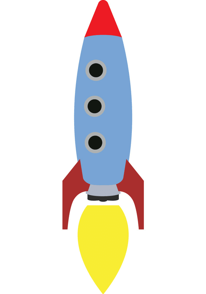 Rocket Launch clipart free image